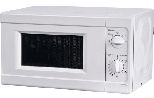The Argos Simple microwave is another popular options for mobile homes.