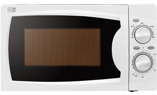 If you're looking for a 700W white microwave, this is a good choice.