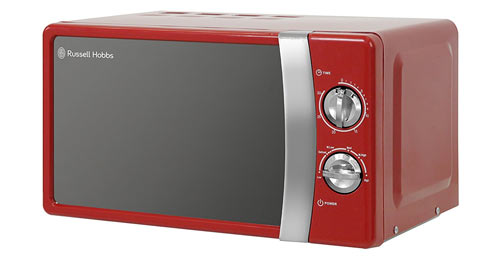 The Russell Hobbs RHMM701R is a 17 litre microwave.